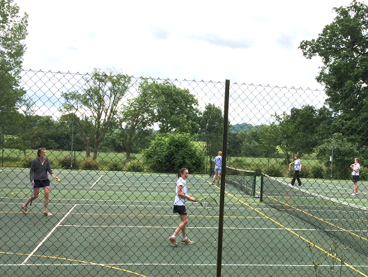 Hanford School-Mother's and Daughter's Tennis