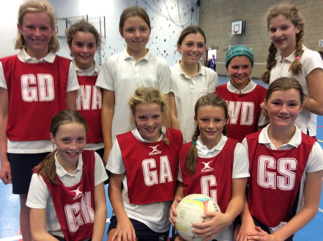 Hanford School-U12 Netball vs Clayesmore 1