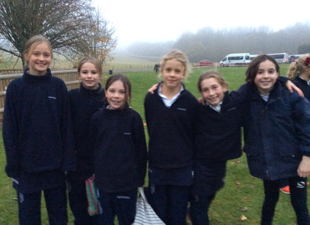 Hanford School-Cross Country at Leweston and Knighton 1