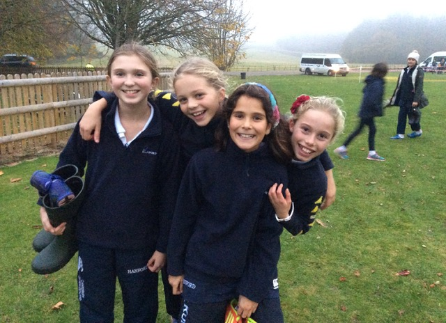 Hanford School-Cross Country at Leweston and Knighton 2