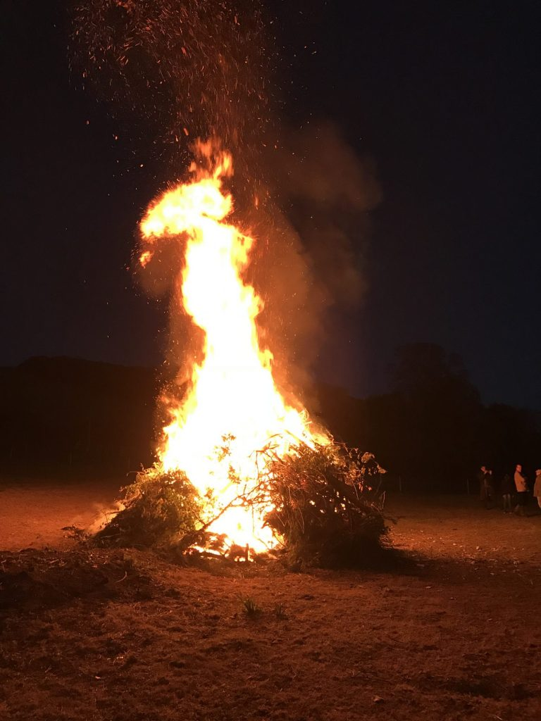 Hanford School-Bonfire Night 2018 1
