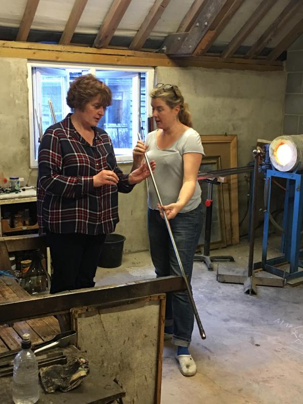 Hanford School-Glass Blowing with Emsie Sharp 11