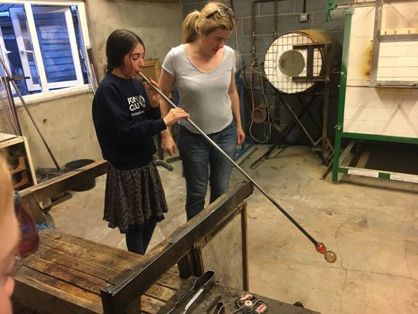 Hanford School-Glass Blowing with Emsie Sharp 17