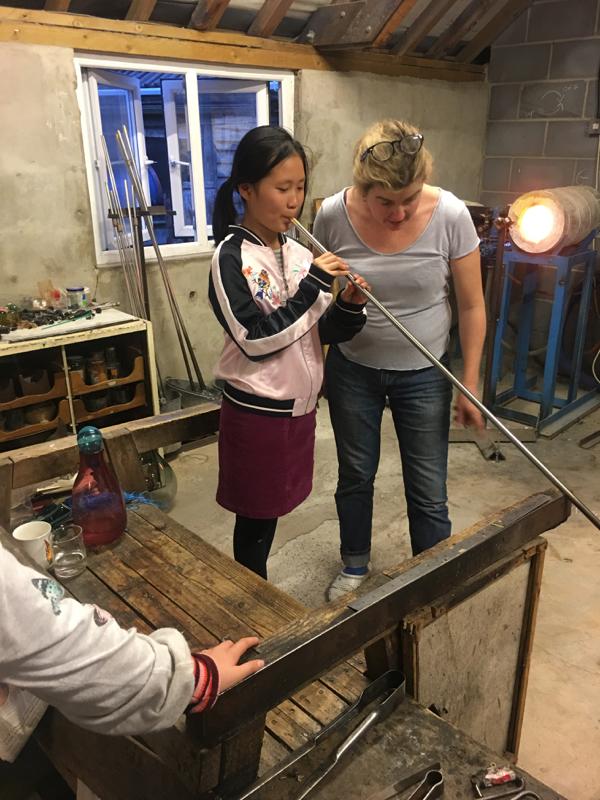 Hanford School-Glass Blowing with Emsie Sharp 18