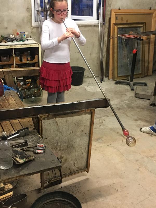 Hanford School-Glass Blowing with Emsie Sharp 19