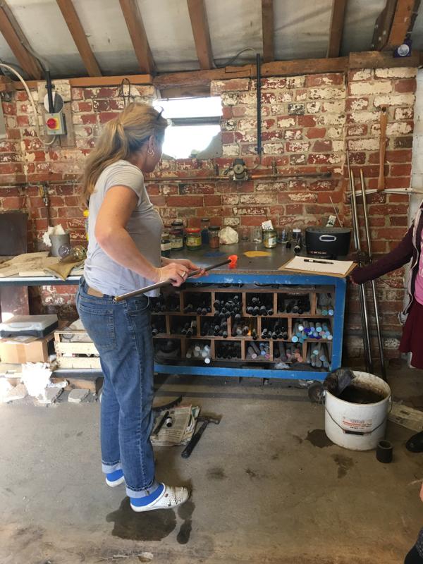 Hanford School-Glass Blowing with Emsie Sharp 2