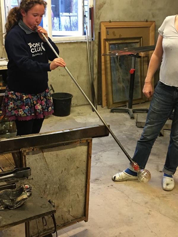 Hanford School-Glass Blowing with Emsie Sharp 8