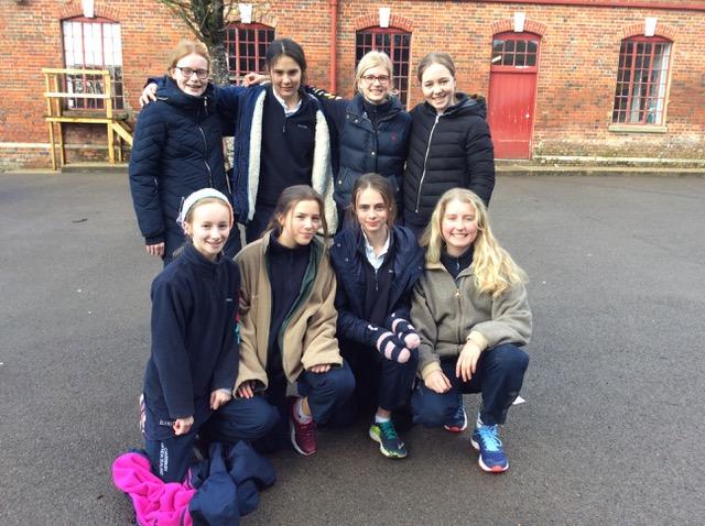 Hanford School-U13 and U12 netball teams hosted Port Regis 1