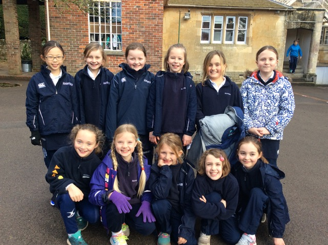 Hanford School-U13 and U12 netball teams hosted Port Regis 5