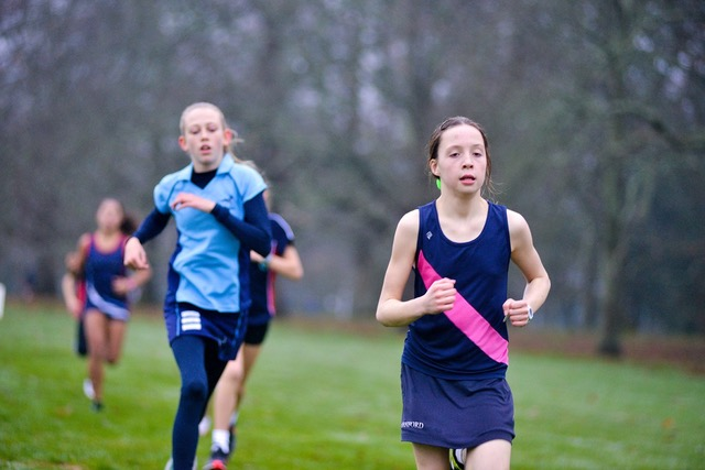 Hanford School-Cross Country Report Canford Races.