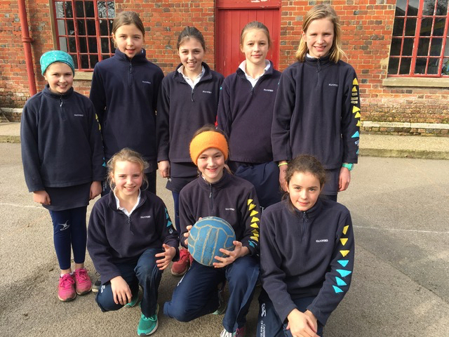 Hanford School-Netball v Sherborne Girls 1
