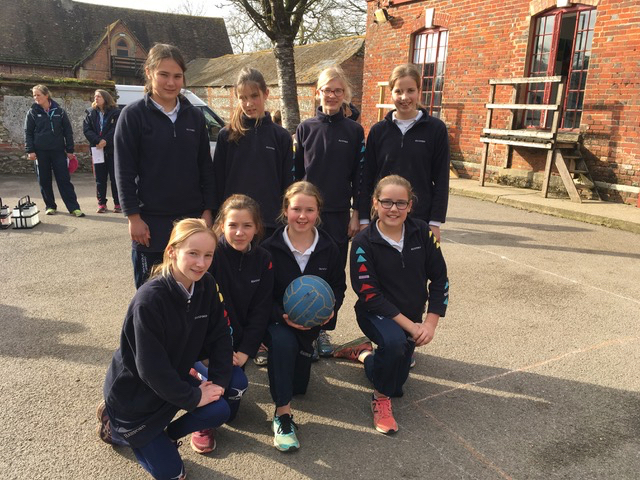 Hanford School-Netball v Sherborne Girls 2