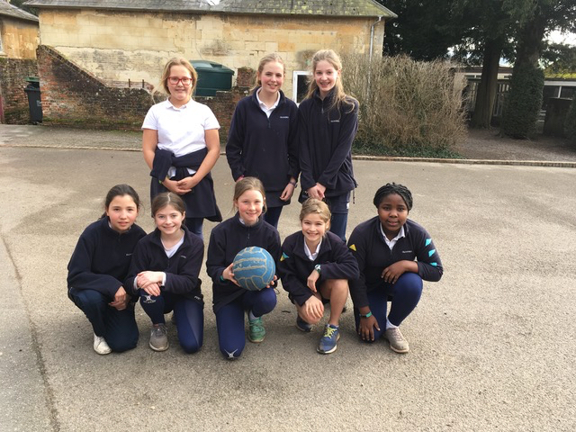 Hanford School-Netball v Sherborne Girls 3