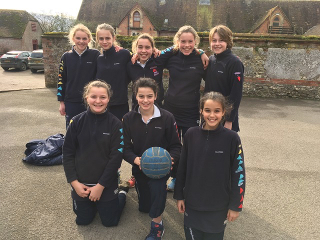 Hanford School-Netball v Sherborne Girls 4