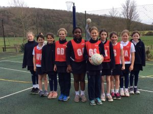 Hanford School-U10 Netball v Clayesmore 2