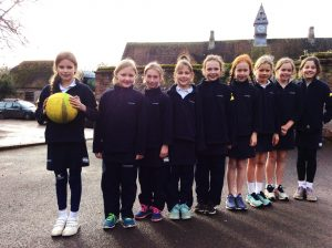 Hanford School-U10A Netball v Knighton House 1