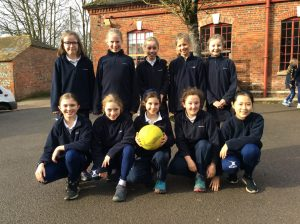 Hanford School-U10A, U11 Netball v Knighton House