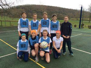 Hanford School-U13, U12 Netball v Sunninghill