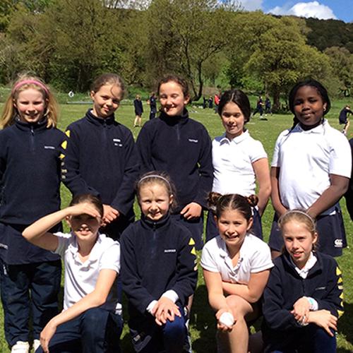 Hanford School-U10 rounders match v Sherborne Prep 1