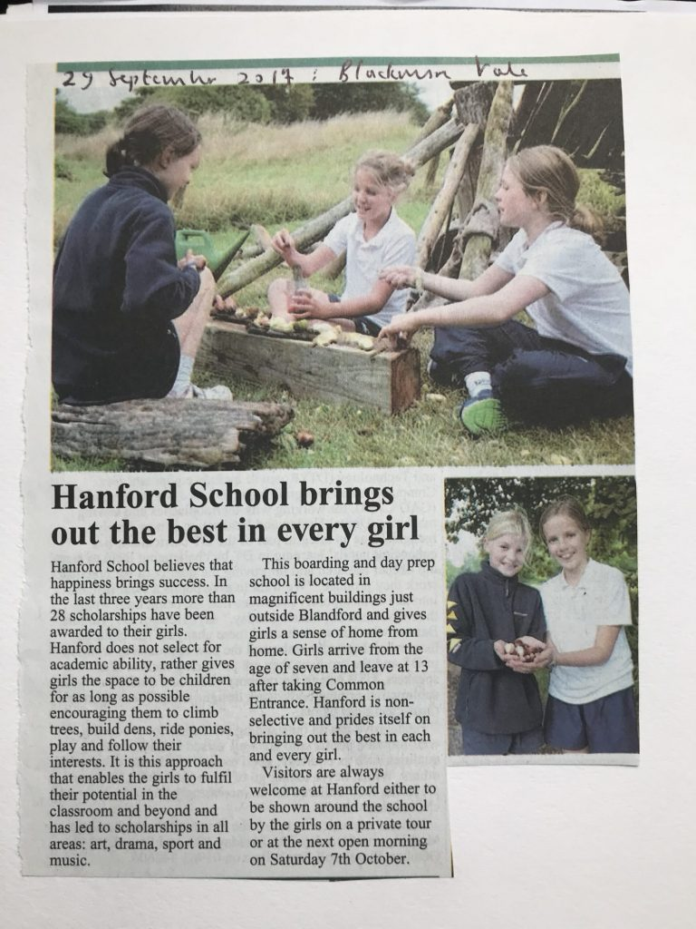Hanford School-Bring out the Best in Every Girl