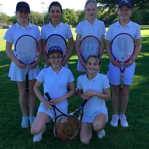 Hanford School-U13 and U12 Tennis vs Leweston 1