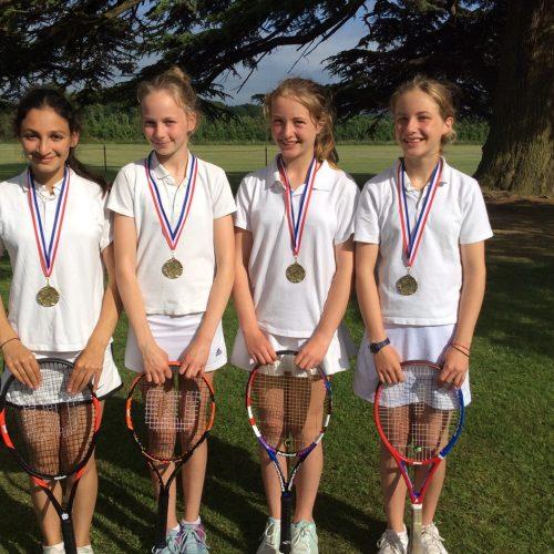 Hanford School-North Dorset Tennis Tournament