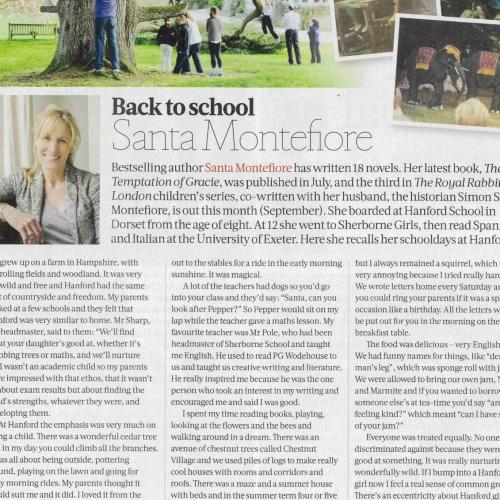 Hanford School-The Week Schools Guide - Santa Montefiore