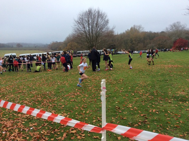 Hanford School-Cross Country at Leweston and Knighton 7