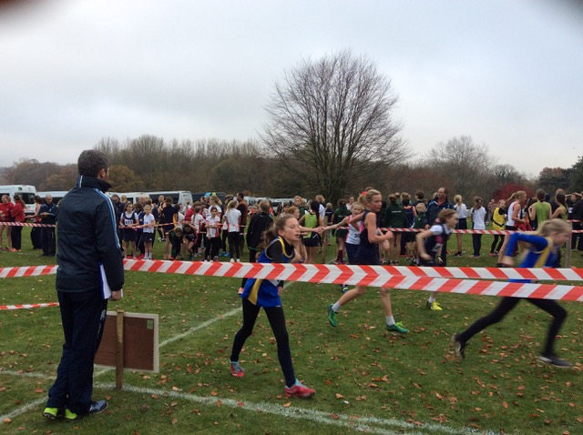 Hanford School-Cross Country at Leweston and Knighton 8