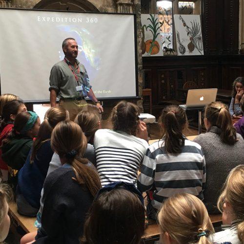 Hanford School-Jason Lewis Talk