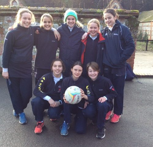 Hanford School-Netball vs Chafyn Grove