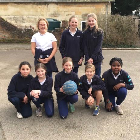 Hanford School-Netball v Sherborne Girls
