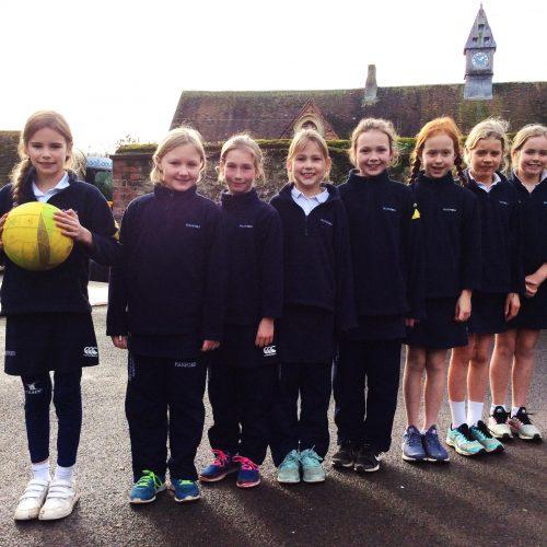 Hanford School-U10A Netball v Knighton House 2