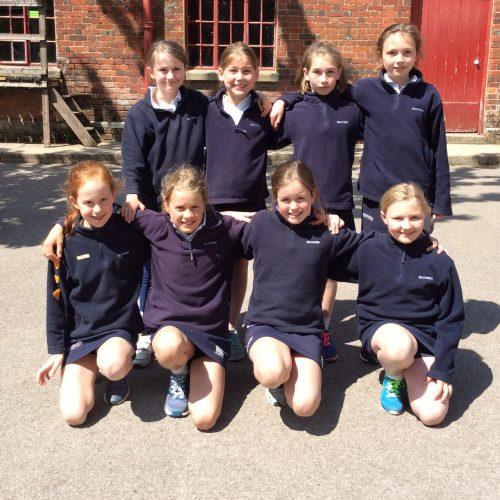 Hanford School-U10 Cricket. v Clayesmore 1