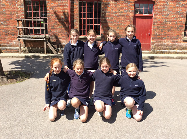 Hanford School-U10 Cricket. v Clayesmore