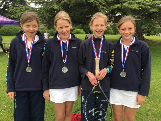 Hanford School-North Dorset Tennis Champions 1