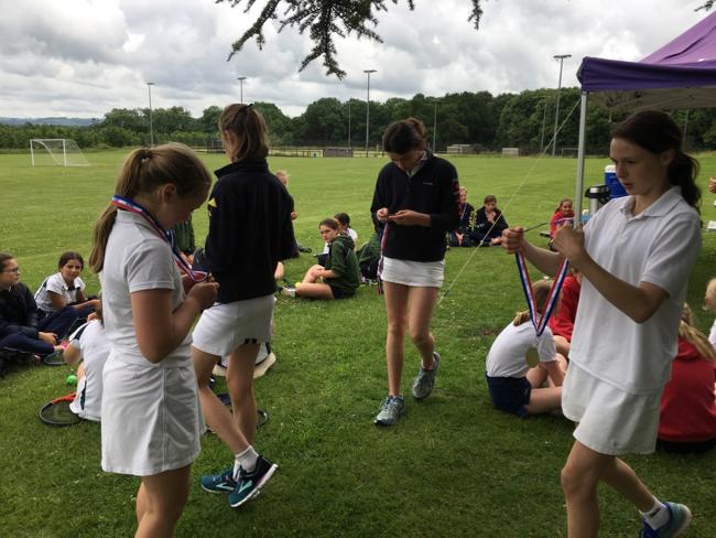 Hanford School-North Dorset Tennis Champions