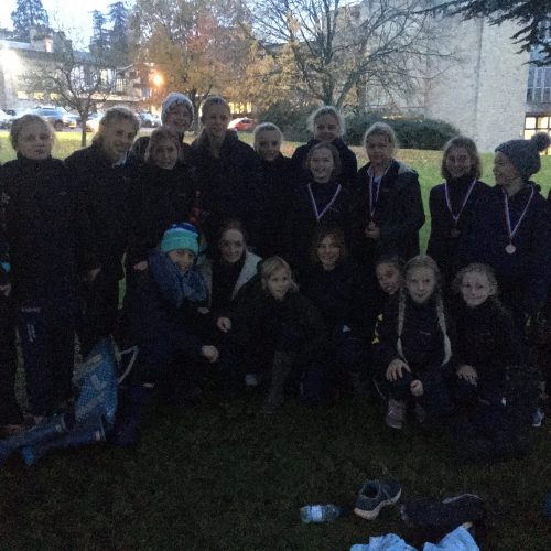 Hanford School-Cross Country Relays at Leweston