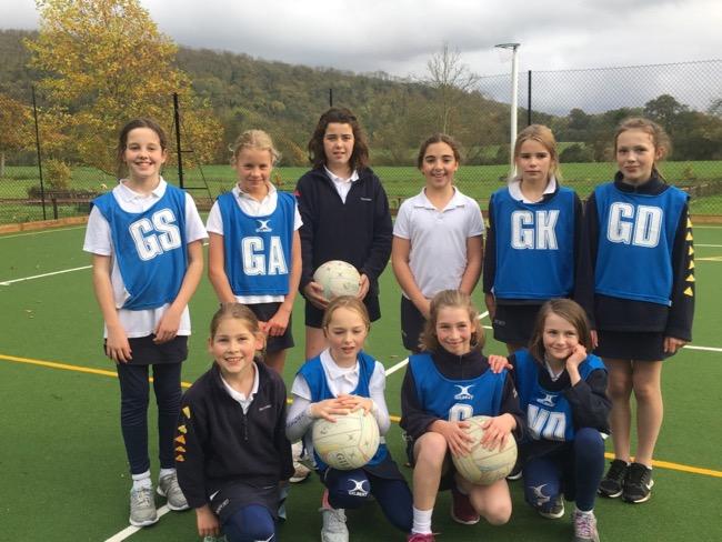 Hanford School-Netball matches v Sunninghill 1