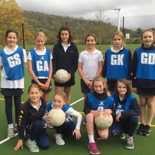 Hanford School-Netball matches v Sunninghill