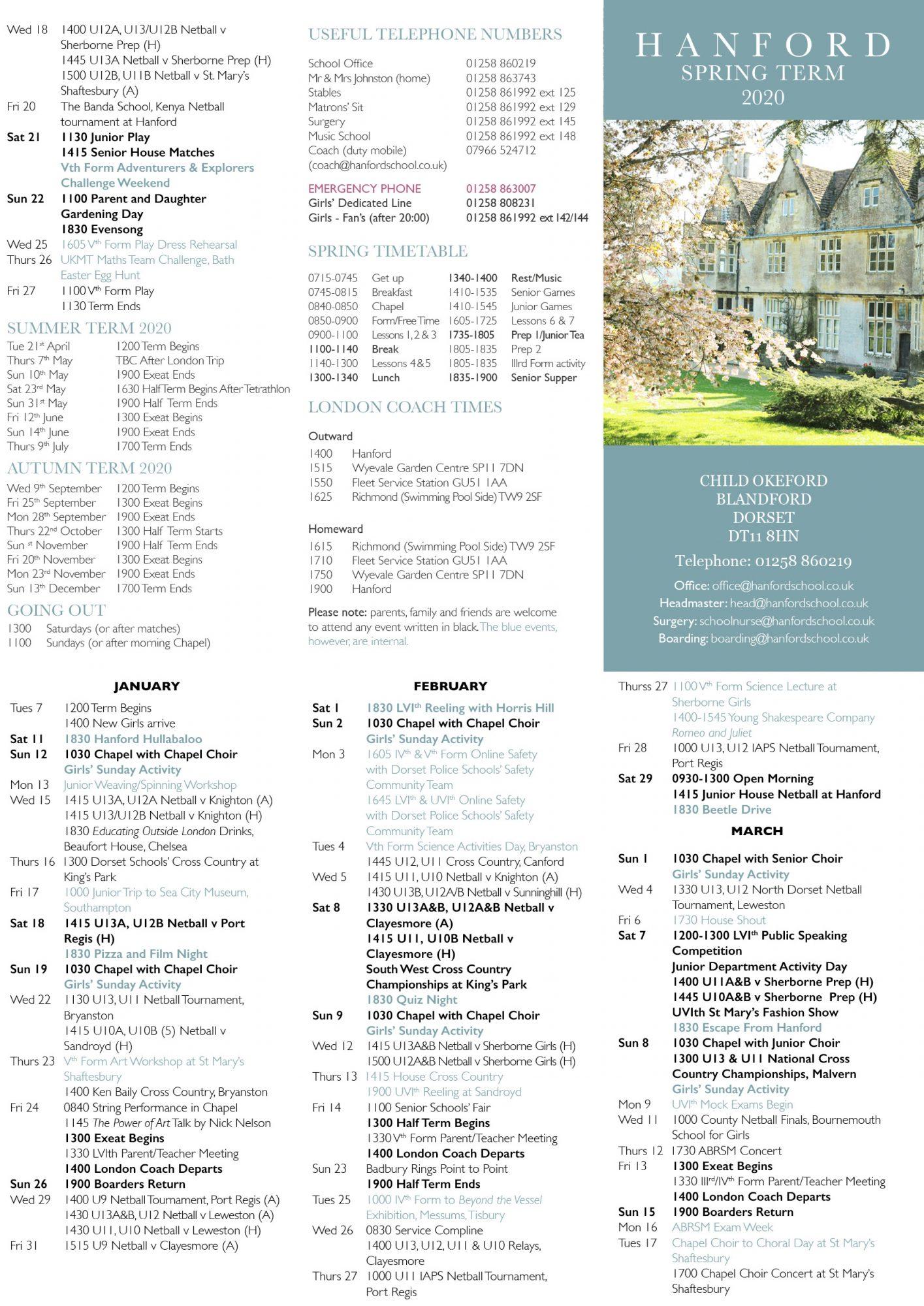 Hanford School-Calendar 3