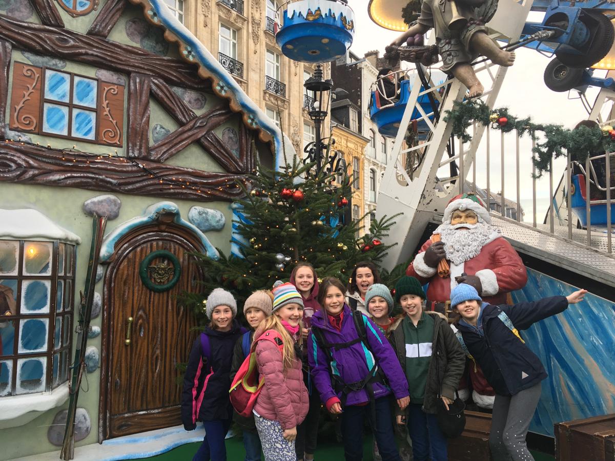 Hanford School-Christmas French Trip Vth and IVth Form 6