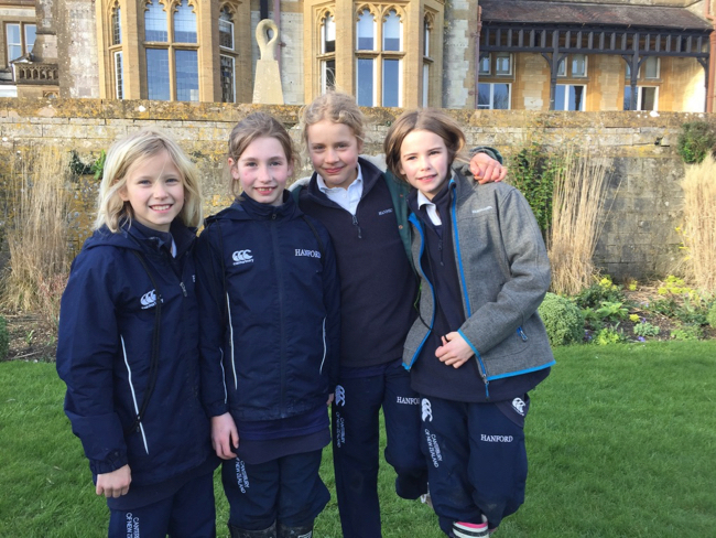 Hanford School-Clayesmore Relays match report 2
