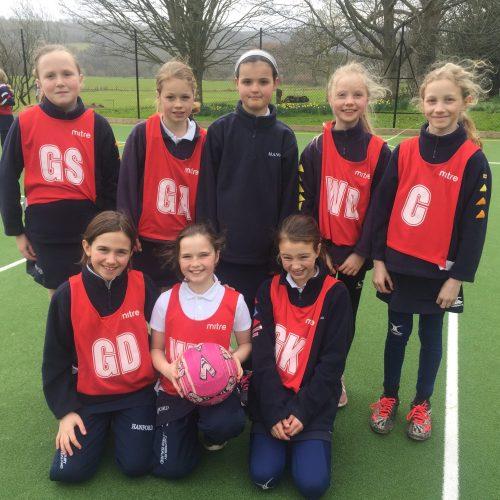 Hanford School-U11 & U10A Netball v Sherborne Prep 1