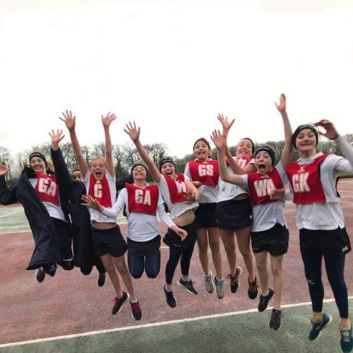 Hanford School-U13 Netball teamqualify for National Prep Schools Netball tournament