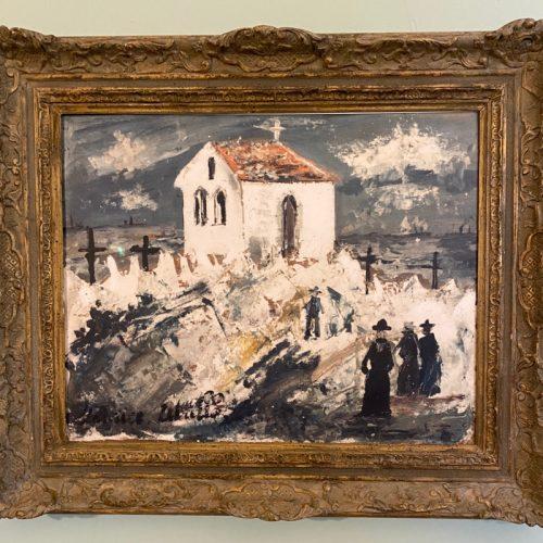 Hanford Prep School-The Utrillo Painting