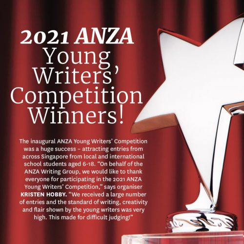 Hanford School-Congratulations to Cheryl for her ANZA Magazine Writing Prize 1