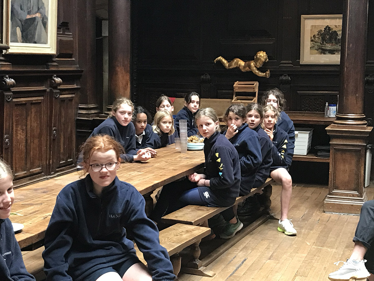 Hanford School-Senior House Rounders 2