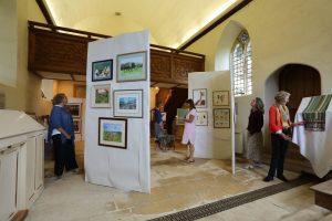Hanford School-Art for Art Barn Drinks Reception 1