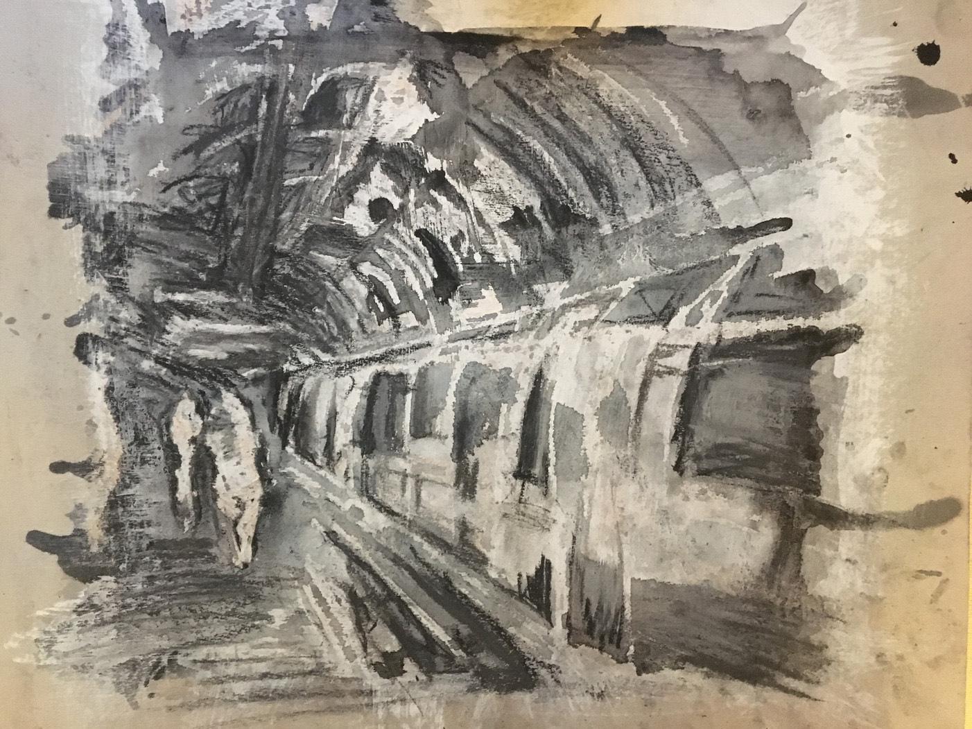 Hanford School-Art for the Art Barn Auction 13